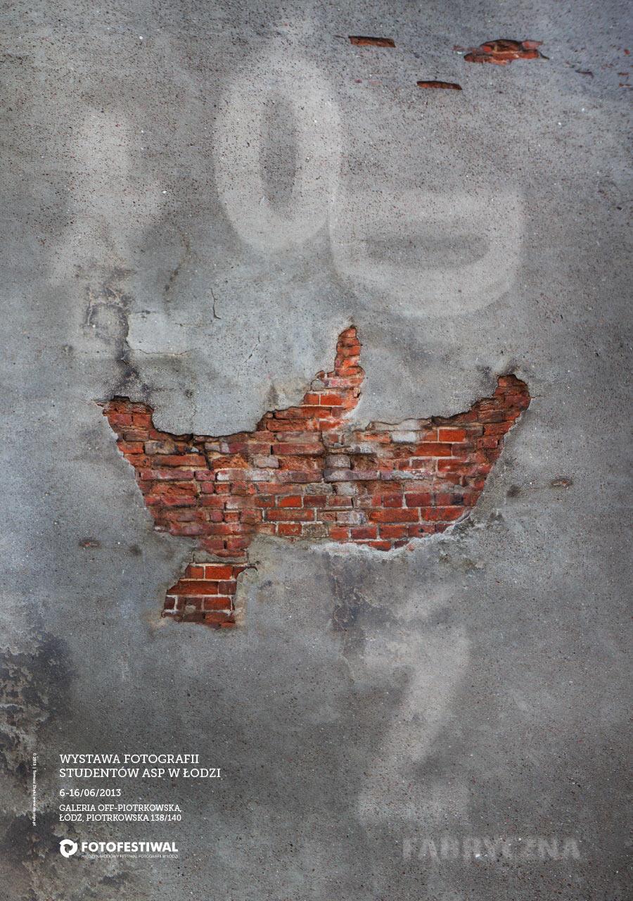 Łódź Fabryczna - plakat B1